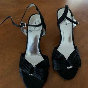 Dressbarn black sandal